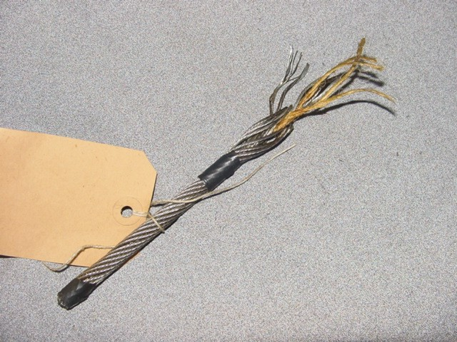 BASE METALS AND ARTICLES OF BASE METAL > ARTICLES OF IRON OR STEEL > Stranded wire, ropes, cables, plaited bands, slings and