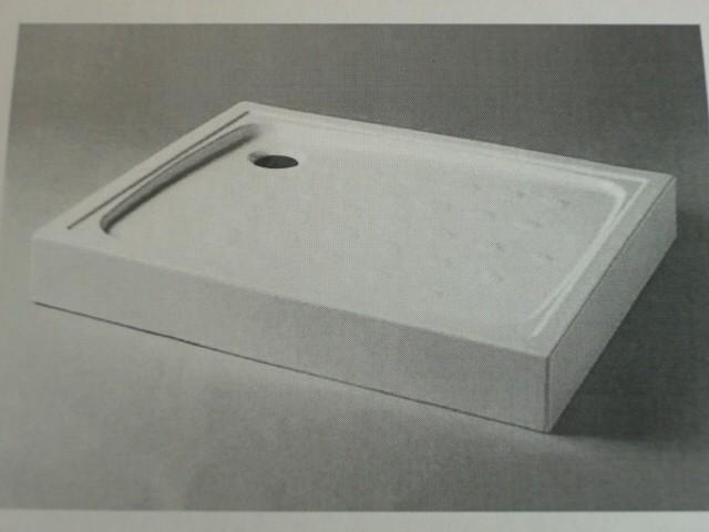 Receveur De Douche En Ceramique, Extra Plat, Sureleve Dimensions
