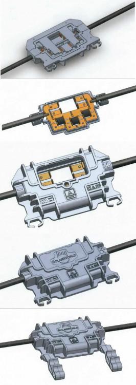 mit Kupferleitern / andere elektrische Leiter, für…