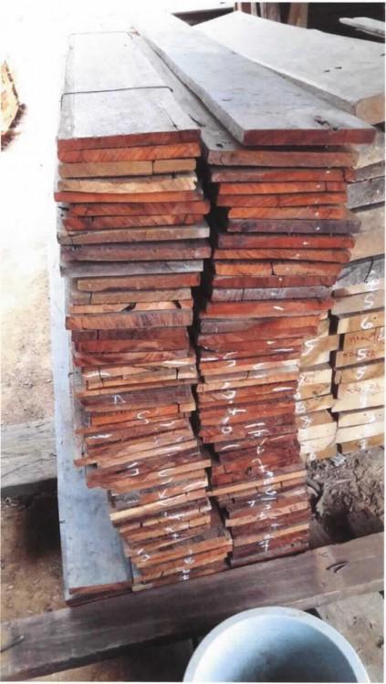 anderes Holz, in der Längsrichtung gesägt oder gesäumt, u2026 ~ 10133749_Teakholz Liegestuhl Gebraucht