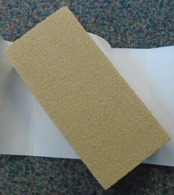Vulcanized rubber sponge