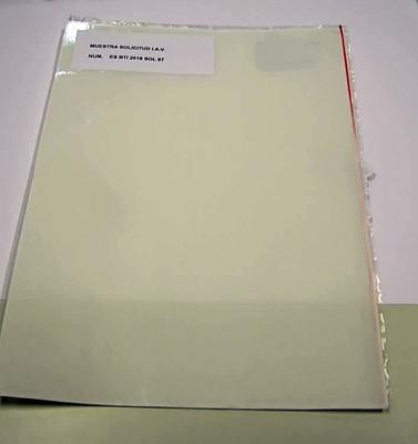 Tama/ño A1, 400/micras 3/hojas de transparente de grosor de pl/ástico hoja de acetato