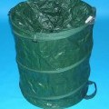 Andere konfektionierte Spinnstoffware, sog. Pop-Up Gartensammelcontainer mit Abdeckung 160 Ltr., Kat 5850, siehe Foto - aus 0,4 mm dicken, einfarbigen, auf der Innenseite mit einer Kunststofffolie...