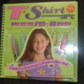 CHILDRENS PATTERN  BOOK, TRANSFER PAINTS, DESIGN TEMPLATES, PLASTIC OVERLAY AND IRONING PAPER. ISBN 1570548501 T-SHIRT ART. THE SPIRAL-BOUND BOOK IS PREDOMINANTLY FULL OF PATTERNS/DESIGNS FOR...