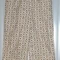 pantalon; à la taille; de tissu; de coton; imprimé; avec ouverture…