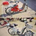 Rower zaopatrzony w pedały, napędzany silnikiem elektrycznym o mocy 750 W zintegrowanym z tylną osią (silnik umieszczony jest w piaście tylnego koła). Pojazd służy do przewozu jednej...