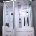 Massageapparat, kein elektrisches Vibrationsmassagegerät, in Form einer zusammengesetzten Ware, sog. Massage-Dusche (Model LS 109), im Wesentlichen bestehend aus einer Wanne aus Acryl, in die...