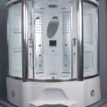Massageapparat, kein elektrisches Vibrationsmassagegerät, in Form einer zusammengesetzten Ware, sog. Massage-Dusche (Model LS 209), im Wesentlichen bestehend aus einer Wanne aus Acryl, in die...