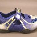 Trainingsschuhähnliche Schuhe für Kinder (lt. Antrag Kinderschuhe, Art.-Nr. 398855), siehe  Foto,  - mit Laufsohlen aus Kunststoff,  - mit Oberteil (nicht geschlossenes Blatt) aus Kunststoff...