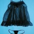 Schlafanzug bestehend aus einem sehr kurzen Nachthemd und einem slipähnlichen Kleidungsstück (Baby Doll), sog. Baby Doll, Hersteller-Artikelnummer 476, Größe S, siehe beigefügtes Foto, -...