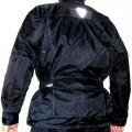 Označení zboží: Textilní bunda pro motocyklový sport, dle údajů žadatele unisex. Popis zboží: Bunda s dlouhými rukávy (délka 86 cm pro velikost 58), z lícové pevně tkané textilie...