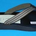 Freizeitschuhe, sogenannte Flip Flops (siehe Foto), - mit Laufsohlen aus (lt. Antrag) Kunststoff, - mit Oberteil (nicht geschlossenes Blatt) aus (lt. Antrag) Spinnstoff (den größten Teil der ...