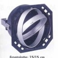 Unvollständiger elektrischer Beleuchtungskörper aus unedlem Metall, anderweit weder genannt noch inbegriffen, von der mit Glühlampen verwendeten Art, sog. Rasterleuchte, wie folgt beschaffen: Es...