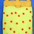 Dreiteiliges Sortiment von konfektionierten Waren, sog. Stofftaschenset,  Art. 2910, siehe Foto, - in Aufmachung für den Einzelverkauf, - aus verschiedenen 0,3 mm dicken, einfarbigen bzw. bedruckten...