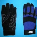 Handschuhe, sog. Arbeitshandschuh Art 0800,  MASTER;siehe Foto, - als Fünffingerhandschuhe gearbeitet, - lt. Untersuchungsergebnis mit folgendem Aufbau:   -- Handinnenfläche, überwiegende...
