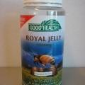 Een voedingssupplement in de vorm van een gelatine capsule bevattende onder meer: koninginnegelei (witte bijenwas (Royal Jelly)), lechitine, gehydrogeneerde kokosnotenolie en Soja olie. De capsules...