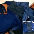 Zwei Kleidungsstücke, den Oberkörper bedeckend, nämlich ein Anorak und eine auszippbare Innen-Wendejacke, welche in einer Umschließung für den Einzelverkauf aufgemacht sind. Die Waren sind...