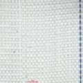 Označení zboží: Polypropylenová kašírovaná plochá tkanina. Popis zboží: Bílá lesklá tkanina z polypropylenových pásků v plátnové vazbě, se zatkanými či řezanými okraji...