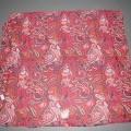 Bekleidungszubehör (Umschlagtuch), sog. Pareo Paisley Art. 690-303, siehe Foto, - aus 0,3 mm dicken, bedruckten, netzartigen, durchscheinenden Gewirken    aus lt. Antrag 95% Nylon und 5% Spandex...