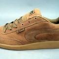 Trainingsschuhähnliche Schuhe (lt. Antrag Skaterschuh, Artikel Nr. 592-984), siehe Foto,  - mit Laufsohlen aus (lt. Antrag) Kautschuk,  - mit Oberteil (geschlossenes Blatt) aus (lt. Antrag)...