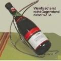"""""""Flaschenhalter""""; es handelt sich um aus verchromtem Stahldraht (kein nichtrostender Stahl, lt. Antragstellerangabe) gefertigte Ständer für Weinflaschen. Die Ständer bestehen i...."""