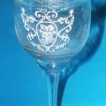 """Glasware zur Innendekoration, sog. """"Kelch""""-Windlicht, siehe Foto,  - trinkglasähnlicher, kelchförmiger Teelichthalter aus gewöhnlichem Glas,  - augenscheinlich mechanische Glasentnahme..."""