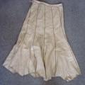 woven; for women; skirts; of linen
