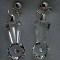 průhledné; stříbro; z drahých kovů; v krabicích; jako krystaly;…