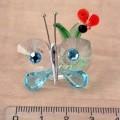 motýli; ze skla; bezbarvé; z obecných kovů; imitace/napodobenina;…