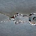 průhledné; stříbro; přívěsky; z drahých kovů; řetězy; v krabicích;…