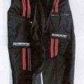 kalhoty; se zapínáním na zip; rozeznatelné pouhým okem; tkané;…