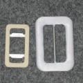 prekrit; iz jekla; zaponke; s tkano tkanino