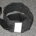 tkanine; usnje; pleten; pasovi; oblačilni dodatki; zaponke