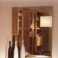 ze dřeva; ze skla; v krabicích; zrcadla, zrcátka; zarámováno