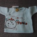 with long sleeves; of polyester; knitted; for babies
