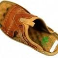 svršky, obuv; z usně; zevní podešev; z kaučuku; sandály; z plastu;…