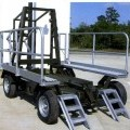 TRANSPORT AND STORAGE  STEEL  FRAMED TROLLEY  ON WHEELS.  FOR THE MOVEMENT OF PRE ASSEMBLED AIRCRAFT WITH OR WITHOUT PROPELLERS. THE PRIME OBJECTIVE IS TO OFFER A UNIVERSAL PLATFORM THAT PROVIDES...