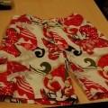 elastisch; met zak; voor meisjes; korte broeken; van synthetische…