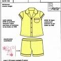 cotton; elastic; with pocket; pyjamas; jackets; with collar;…