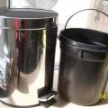 капак; от стомана; кофа за отпадъци; педали; с кръгло напречно…