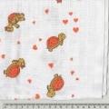 z tkaniny; z bavlny; pro kojence; pro malé děti; různobarevné