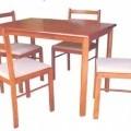 proizvodi, pripravljeni v kompletu; stoli; lesni izdelki; mize