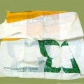 plastico; bolsa de la compra; de polietileno