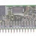 Funk-Fernsteuerung - aus einer mit Funk-Frequenzempfänger, Mikrokontroller und weiteren aktiven und passiven   Bauelementen bestückten gedruckten Schaltung, - zum Funkempfang von Fernsteuersignalen...
