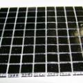 baldosín de vidrio moldeado para revestimiento de paredes. se…