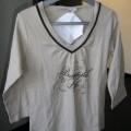 pantalon; coton; pyjama; t-shirt; étoffe de bonneterie; ensemble