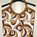 tkaniny; kabelky (dámské); se zapínáním na zip; tištěné; z plastu;…