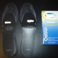 removable insoles; of rubber