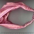 z bavlny; tkané; z polyesteru; oděvní doplňky; ozdoby do vlasů;…