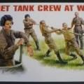 Anderes Spielzeug, noch nicht zusammengesetzt, in Form von Soldaten.  Es handelt sich um die Einzelteile von fünf starren Figuren, russische Soldaten darstellend (Maßstab 1:35), in Form zweier...